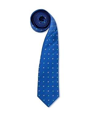 Olimpo Corbata Flores (Azul)