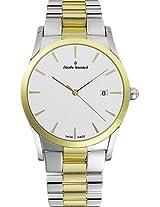 Claude Bernard Analogue White Dial Women's Watch - 23092 357 AID