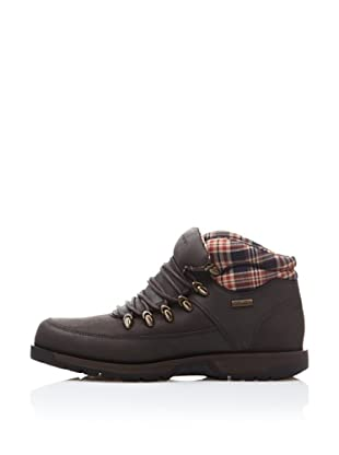 Rockport Botas Casual Waterproof Boundary (Marrón Oscuro)