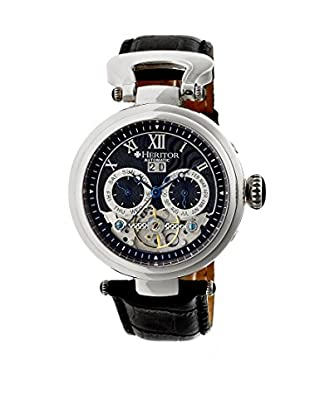 Heritor Automatic Uhr Ganzi Herhr3302 schwarz 48  mm