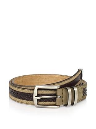 Mezlan Men's Belt (Olive/Brown)