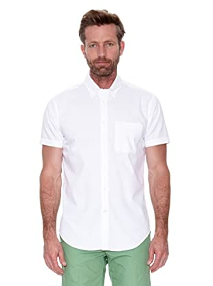 Cortefiel Camisa Mc Awati Liso (Blanco)