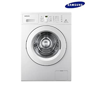 Samsung 5.5 Kg WF8558NMW8-XTL Front Loading Fully Automatic Washing Machine-White