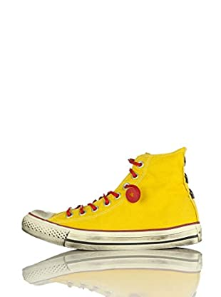 Converse Zapatillas All Star Hi Can Gdyed Star Limited Edition (Amarillo / Rojo)