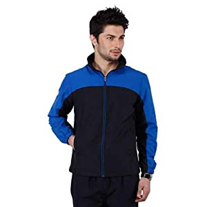 Yepme Impish Tracksuit- Black & Royal Blue