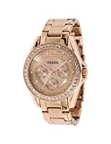Fossil Riley ES2811 Chronograph Watch - For Women