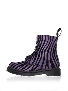 Dr. Marten's Women's Pascal Motorcycle Boot (Potent Purple)