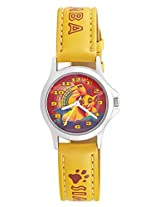 Disney Analog Multi-Color Dial Children's Watch - 3K0906U-LK  (YELLOW)