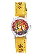 Disney Analog Multi-Color Dial Children's Watch - 3K0906U-LK  (YELLOW)