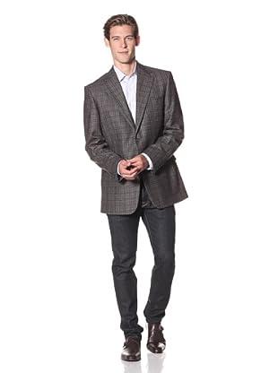 Joseph Abboud Men's 2-Button Sportcoat (Brown)