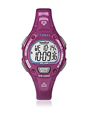 TIMEX Reloj de cuarzo Woman Ironman Traditional 30-Lap Burdeos 34 mm