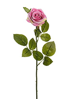 Kunstblumen 24 tlg. Set rosa
