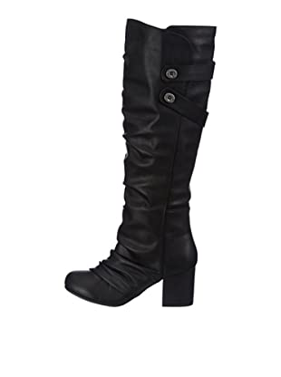 Blowfish Telland Boot BF2405 AU12, Stivali donna (Nero (Schwarz (black austin PU BF226)))