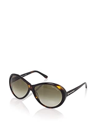 Tom Ford Women's Geraldine TF202 Sunglasses (Dark Havana)