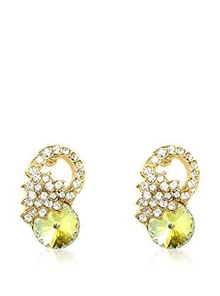 Philippa Gold Ohrringe vergoldetes Metall 24 kt