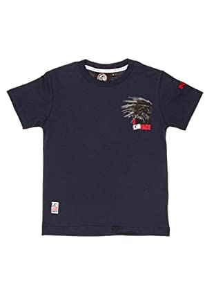 The Indian Face Camiseta Básica (Azul Marino)
