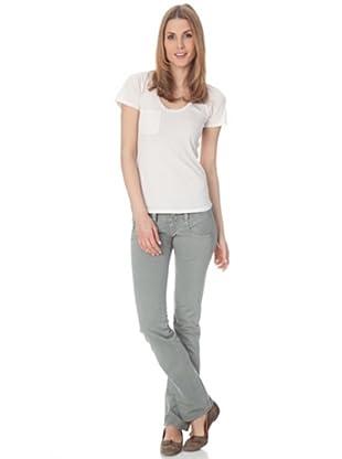 Herrlicher T-Shirt Lila Jersey (fuzzy)
