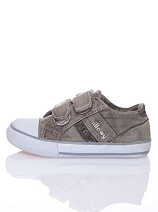 Billowy Zapatillas Lona Velcro Travis (Beige)