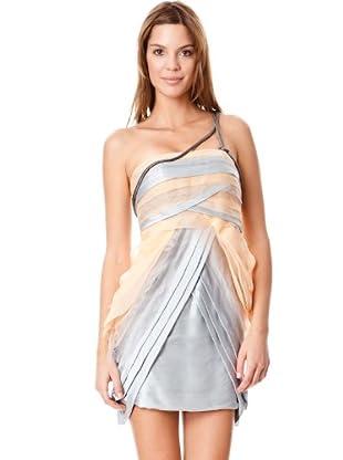 BDBA Vestido Nydia (beige / gris)