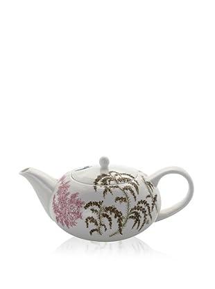 Elinno Morning Flirt Teapot, White/Multi