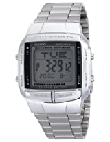 CASIO Multi-Lingual Data Bank Mens Watch DB-360-1ADF - DB27