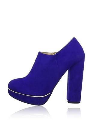 Buffalo Girl 239822 ZMLP SUEDE 141345 - Botines  mujer (Azul)