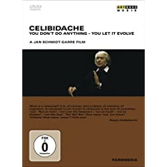 DVD Celibidache: You Don't Do Anything You Let It EvolveのAmazonの商品頁を開く