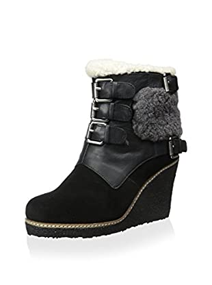 Australia Luxe Collective Women's Monk Buckle Wedge Ankle Boot