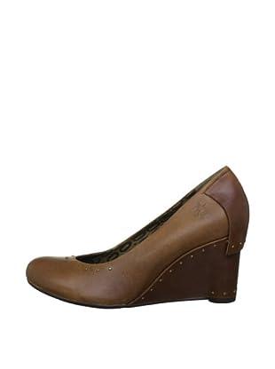 Fly London Zapatos Tachas (Marrón)