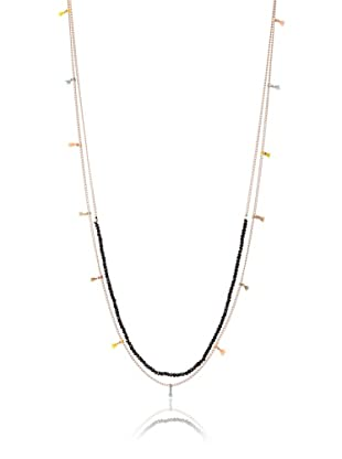 Shashi Black Spinal Lilu Layering Necklace