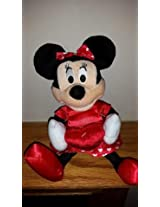 "12"" Minnie Mouse Talking Valentines Day Plush"