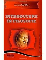Introducere in filosofie