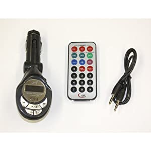 【クリックで詳細表示】車載用MP3 FMトランスミッター 12V/24V両対応