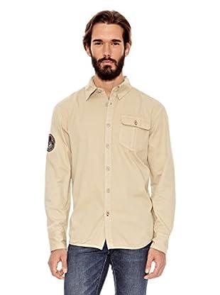 National Geographic Camisa Hombre Sydney 79 (Beige)
