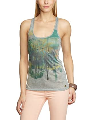 7 For All Mankind Top Rower Tank Melange