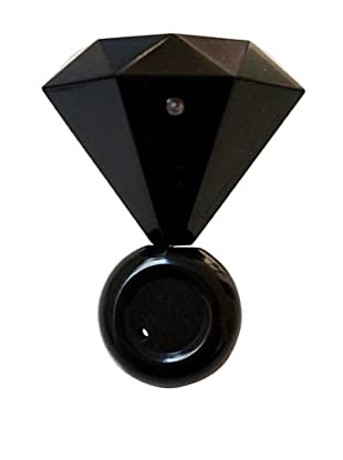 MollaSpace Diamond Ring Speaker, Black