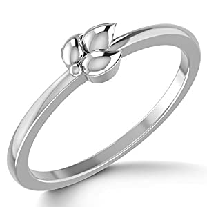 Eros Platinum Ring