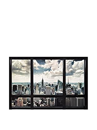 Artopweb Panel Decorativo Window - New York 60x90 cm Multicolor