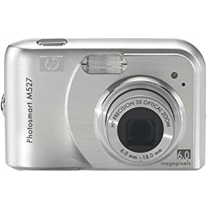 HP Photosmart M527 6MP Digital Camera with 3x Optical Zoom