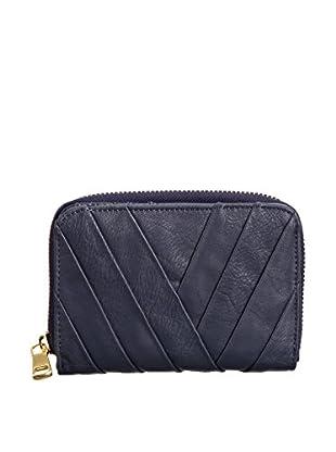 Louche Bags Womens Victoria Messenger Bag (Navy)