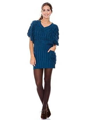 LAVAND Vestido Knit Oversized (Azul)