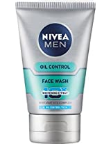Nivea Men Oil Control Face Wash (10X whitening), 100ml