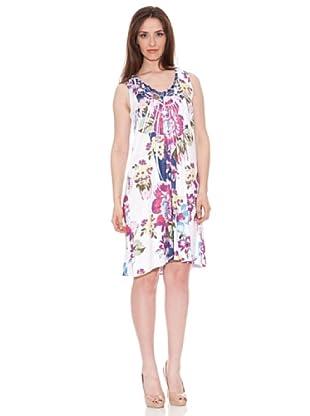 Diktons Vestido Flores (Multicolor)