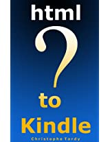 HTML TO KINDLE