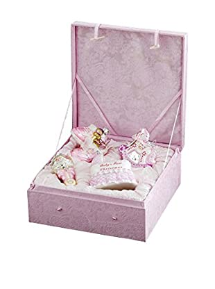 Kurt Adler Noble Gems Baby Girl Ornament Set