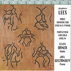 Complete Violin Works of Benjamin Lees