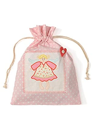 My Doll Bolsa con Asas Angel Rosa
