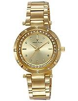 Daniel Klein Analog Gold Dial Women's Watch - DK10769-6