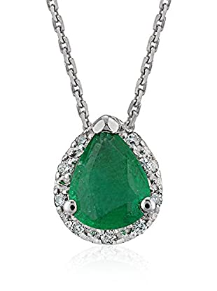 Divas Diamond Collar Diamond Drop Emerald Gold
