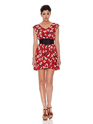 Peace & Love Vestido Lompoc (Rojo)